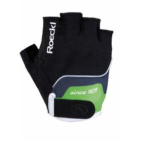 Roeckl Nano Junior Handschuhe schwarz/grün